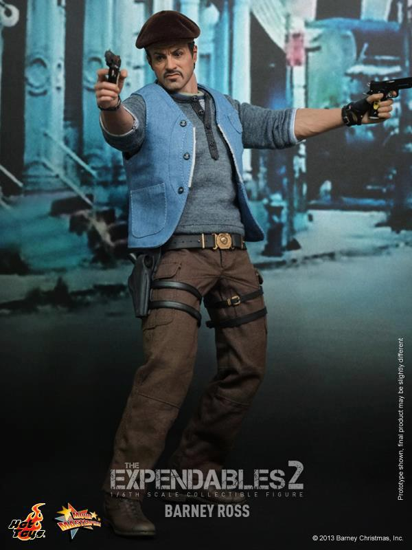 hot toys expendables 2 barney ross 14