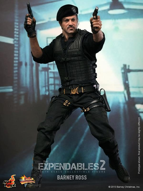 hot toys expendables 2 barney ross 16