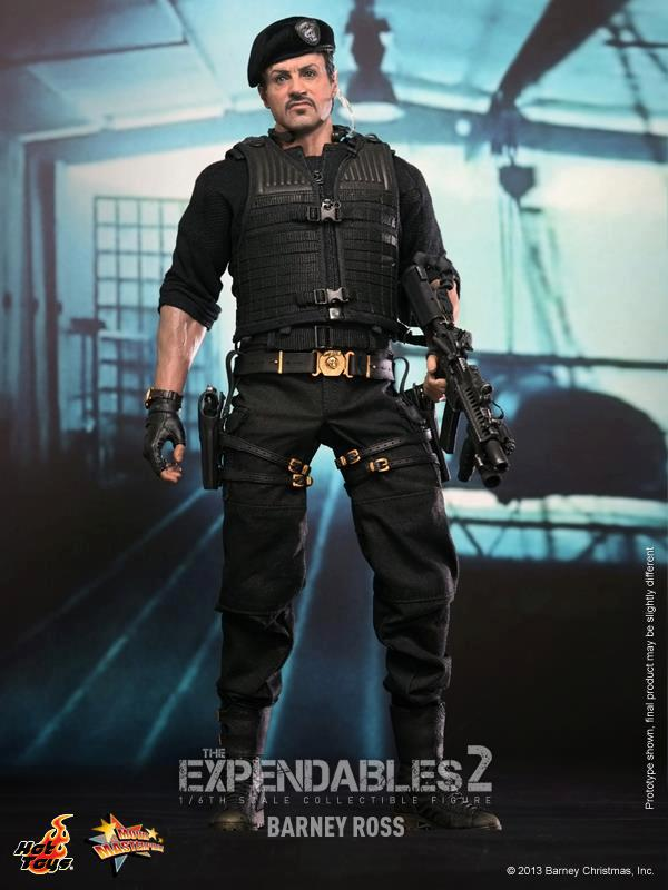 hot toys expendables 2 barney ross 17