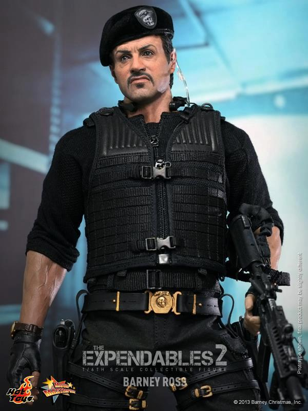 hot toys expendables 2 barney ross 8
