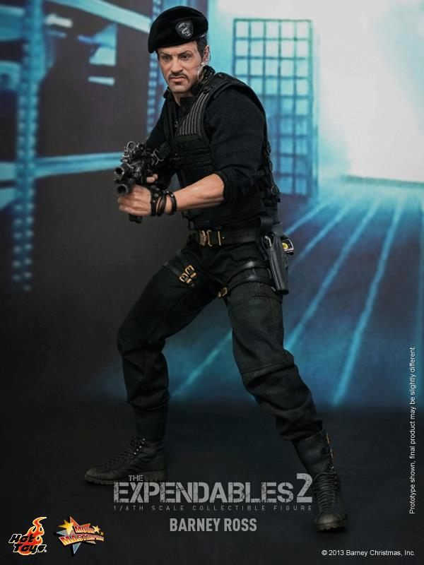 hot toys expendables 2 barney ross 9
