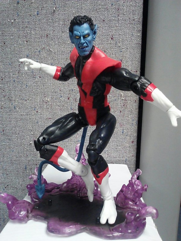 marvel select nightcrawler display