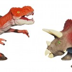 A3887 Triceratops vs. T-Rex