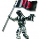 G.I. JOE 3.75 Movie Figure Cobra Combat Ninja A2683