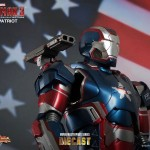 Iron Man 3 : Iron Patriot par Hot Toys