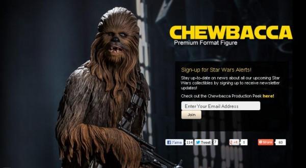 chewbacca premium format sideshow