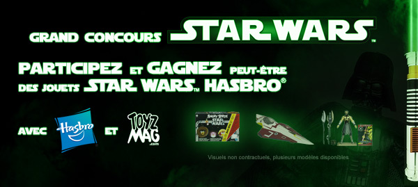 concours jouets Star Wars