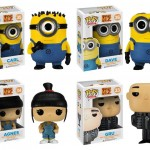 Moi, moche et mchant 2 les personnages en Pop! Vinyl