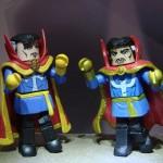 Marvel Minimates Dr. Strange (with Defenders Box Set Dr. Strange, left)