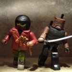 First Appearance Blade Marvel Minimate (with Modern Blade)