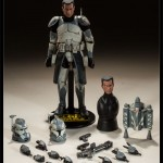 Star Wars The Clone Wars : Sideshow ouvre les prcos du Commander Wolffe