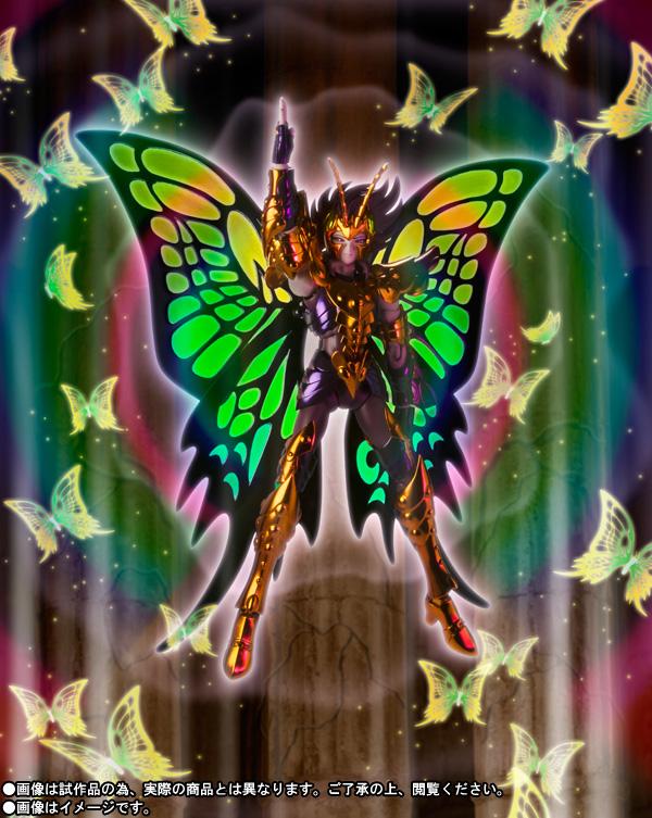 myu papillon myth cloth bandai