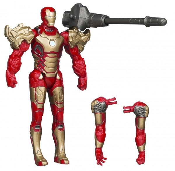 "Hasbro IM3 Assemblers Iron Man Mk42 (3""3/4)"
