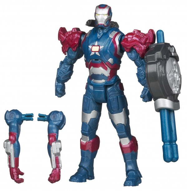 "Hasbro IM3 Assemblers Iron Patriot (3""3/4)"