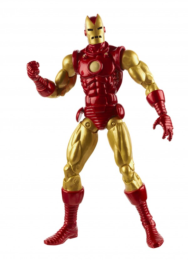 A2515 MARVEL LEGENDS 6-INCH CLASSIC HORNED IRON MAN