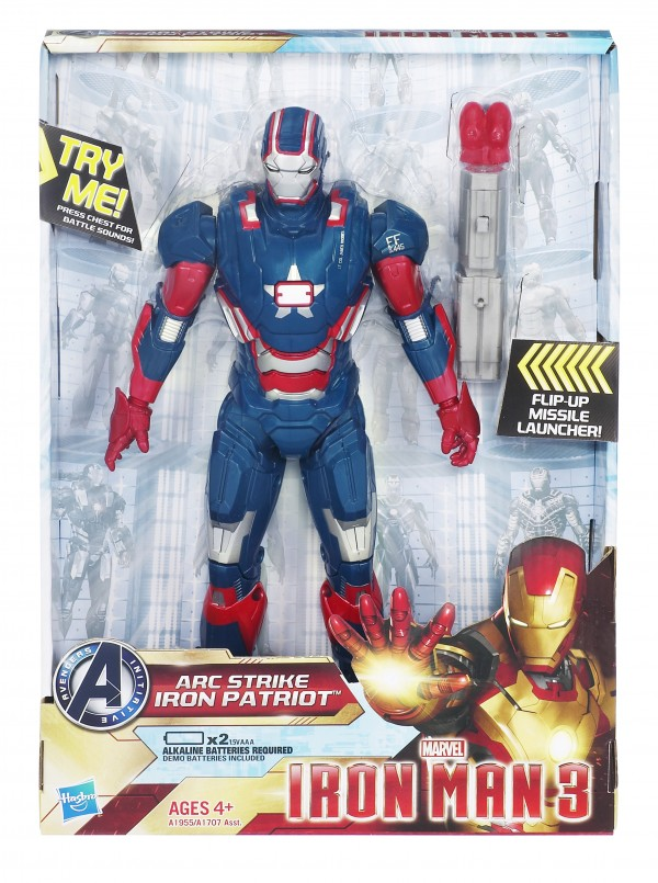 "Hasbro Arc-Strike-Iron-Patriot (10"")"