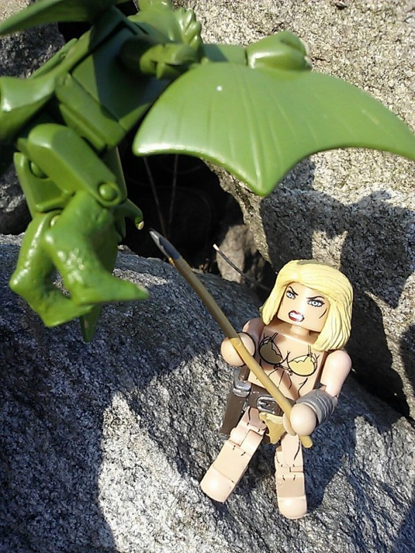Shanna vs. sauron Marvel Minimates Series 51