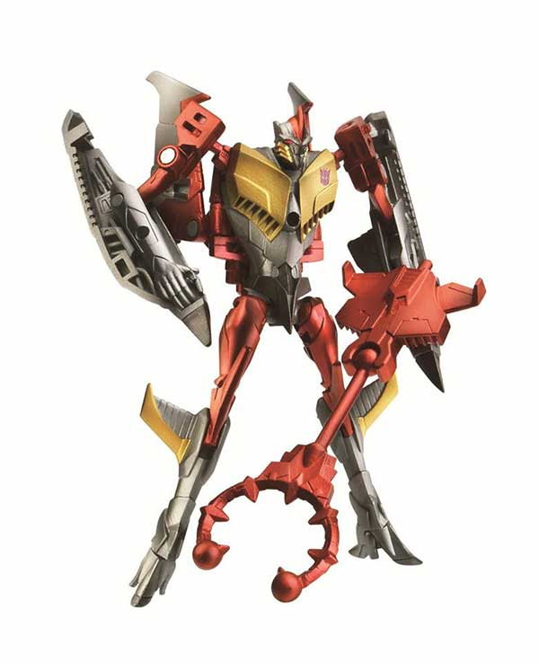 Transformers Prime Beast Hunters Cyberverse Commander Class Starscream (Robot Mode)