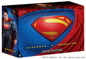 SDCC DC Man of Steel Movie Masters Superman vs General Zod Movie Pack