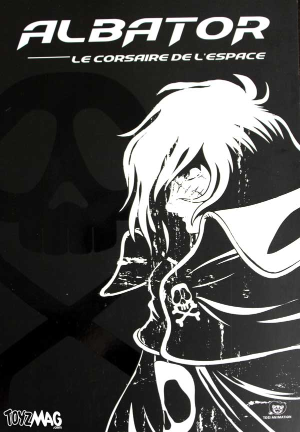 albator Captain Harlock Spce Pirate toei animation
