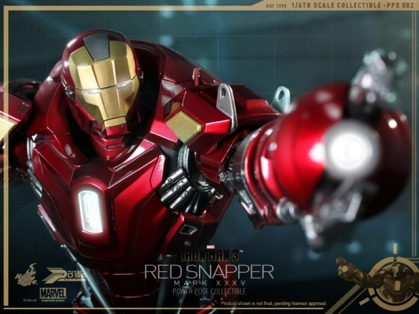 hot toys iron man 3 red snapper mk35 12