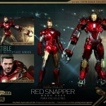 Iron Man 3 : Hot Toys présente son Red Snapper (Power Pose)