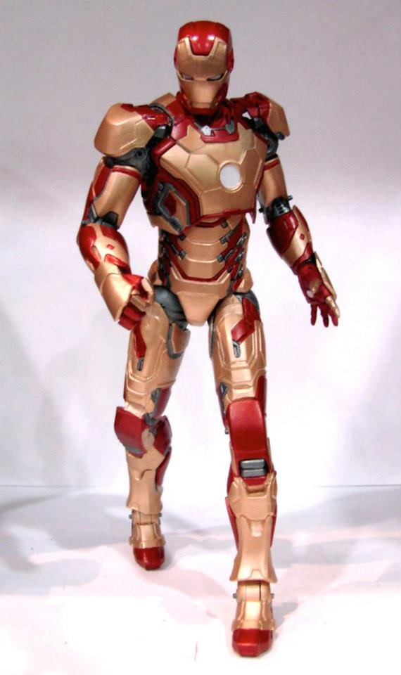 iron man 3 marvel select mk42 3