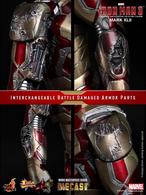 iron man hot toys mk xlii 14