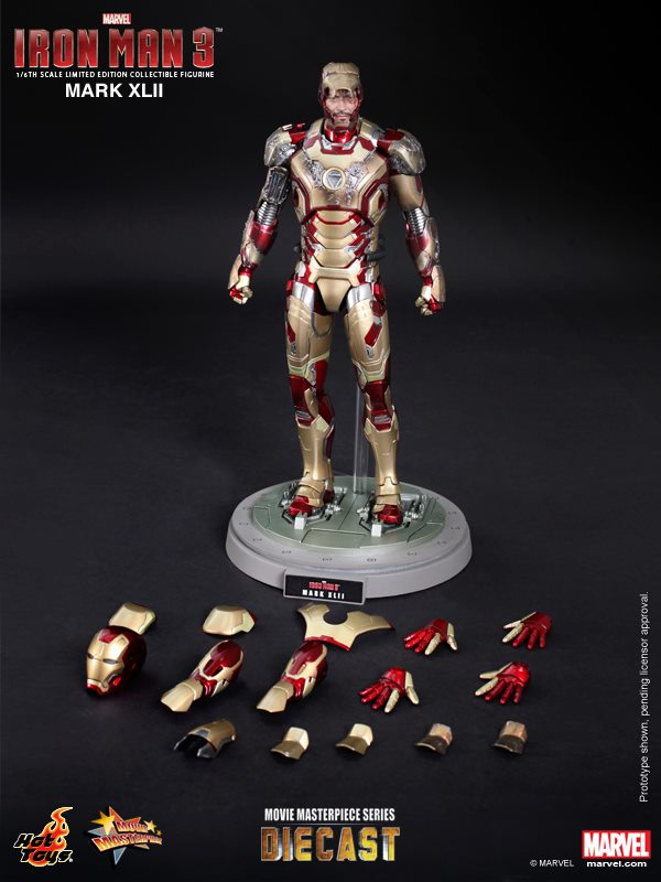 iron man hot toys mk xlii 15