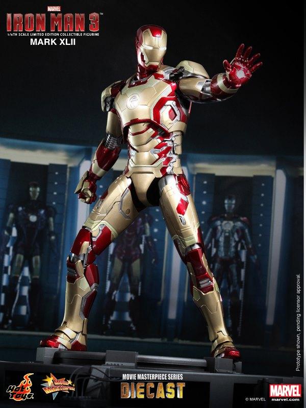"""Hot Toys Iron Mk 42 (12"""")"""