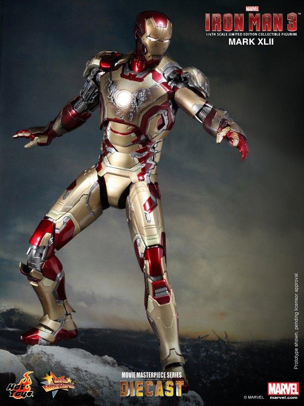 iron man hot toys mk xlii 5