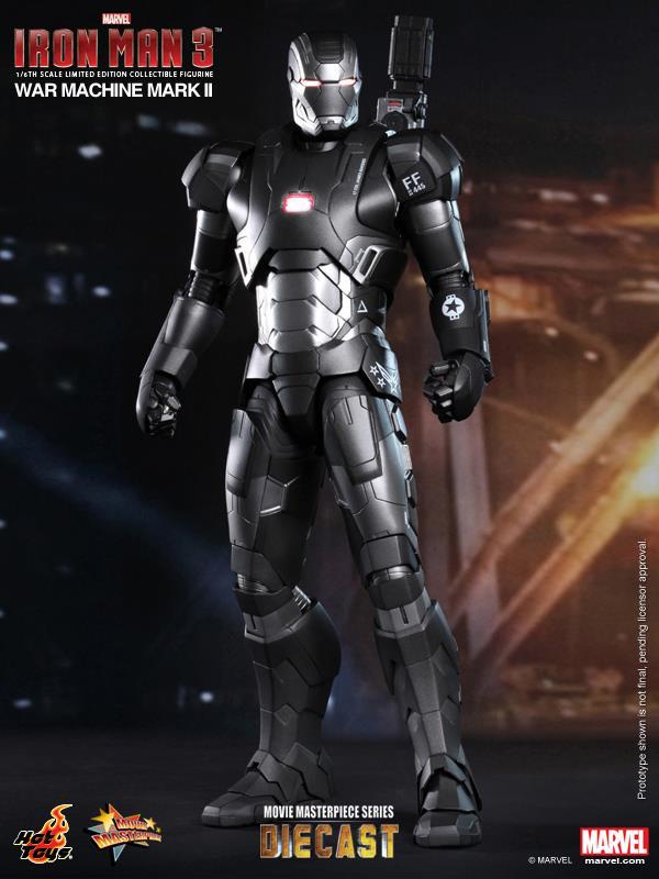 iron man hot toys war wachine mk II 1