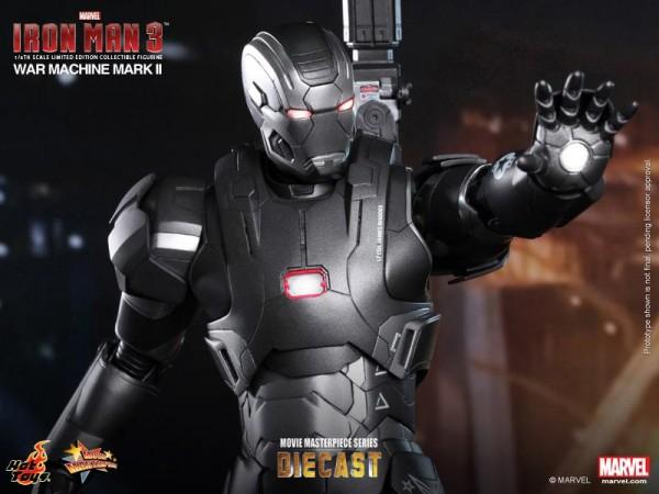 iron man hot toys war wachine mk II 11