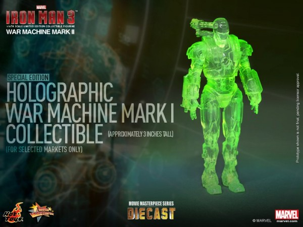 iron man hot toys war wachine mk II 14