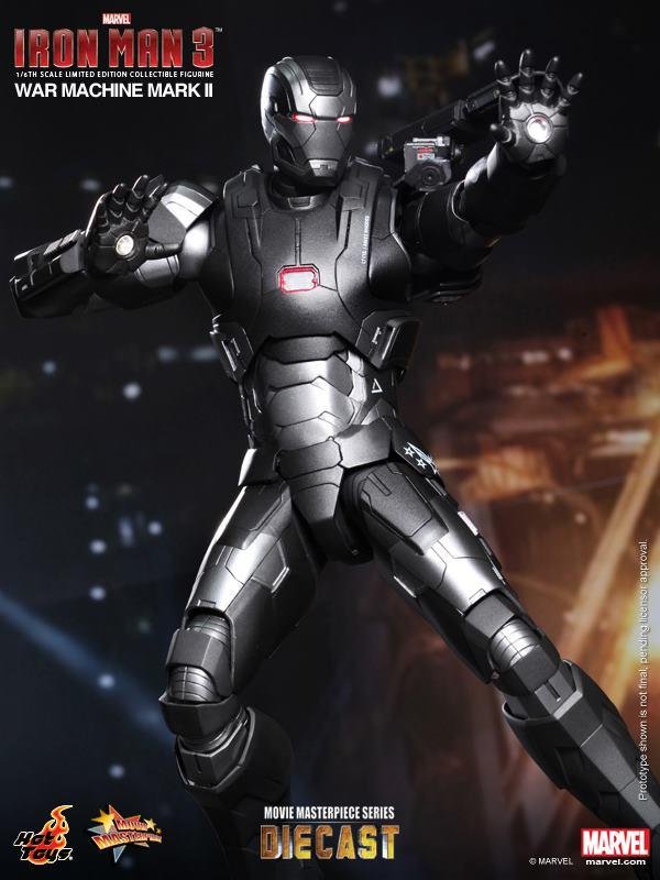iron man hot toys war wachine mk II 4