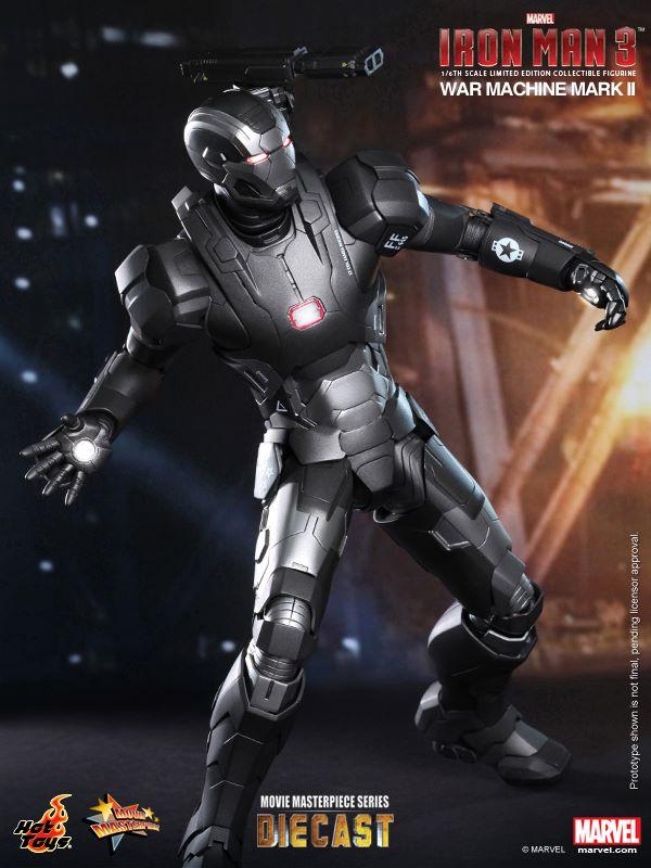 iron man hot toys war wachine mk II 5