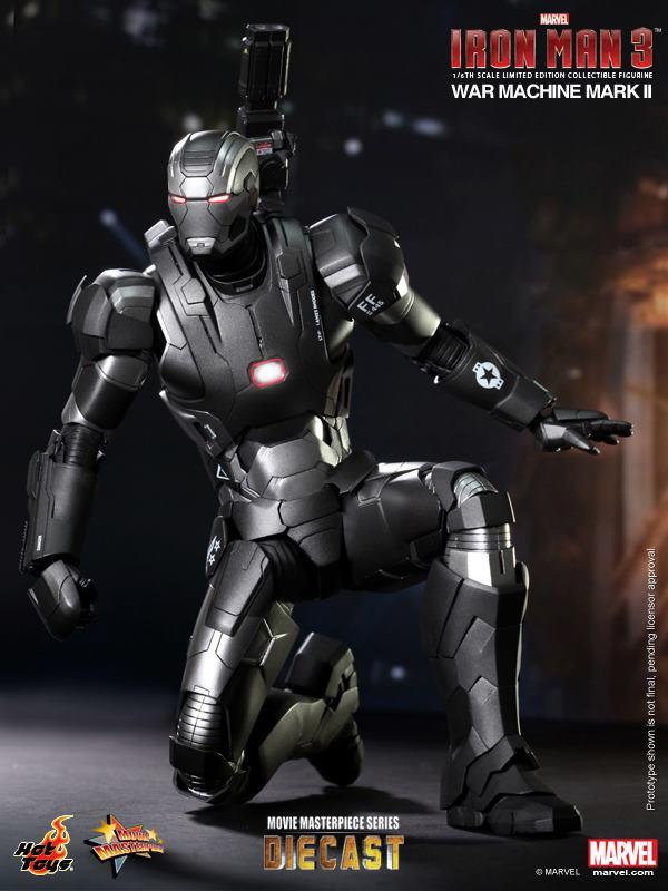 iron man hot toys war wachine mk II 6