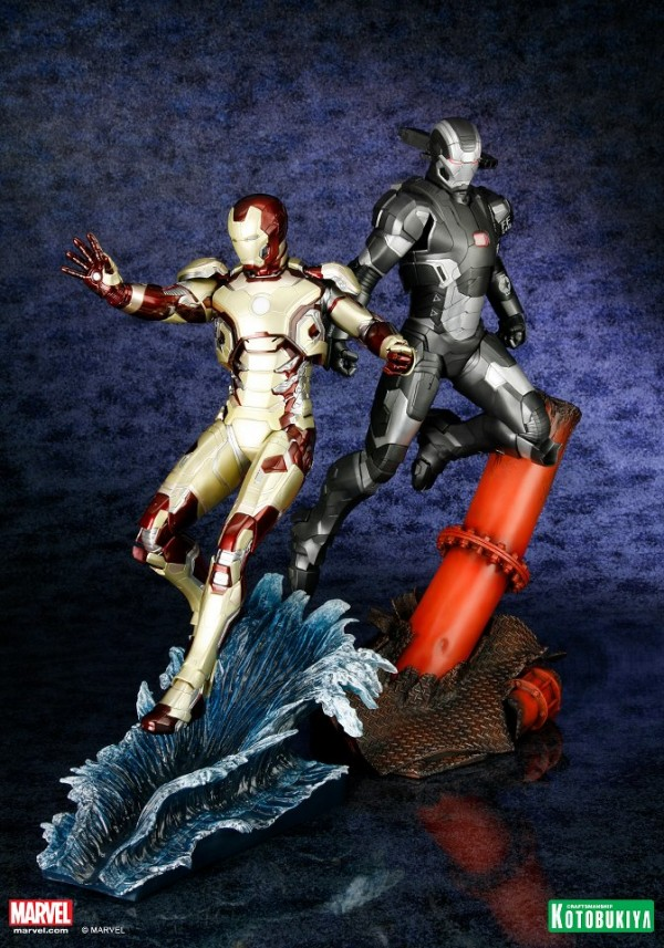 koto iron man & war machine artfx 1