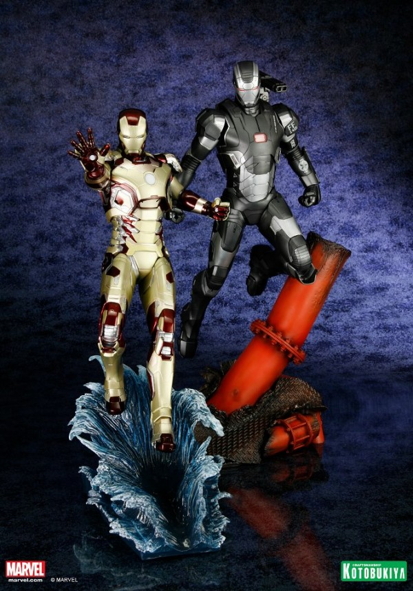 koto iron man & war machine artfx 2