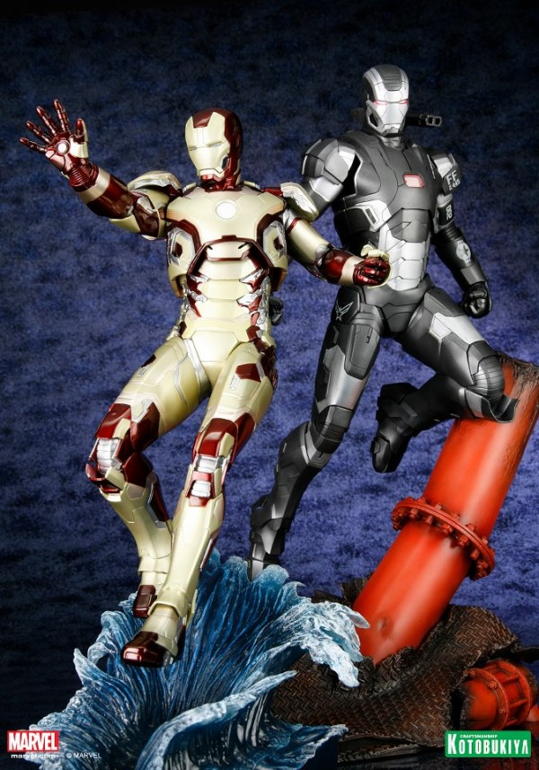 koto iron man & war machine artfx 3
