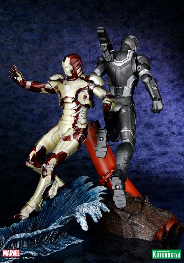 koto iron man & war machine artfx 4