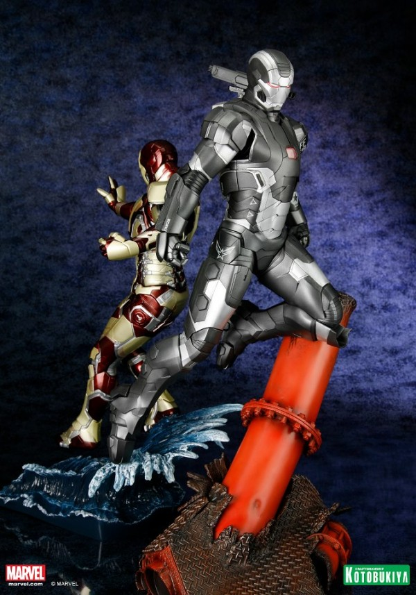 koto iron man & war machine artfx 5