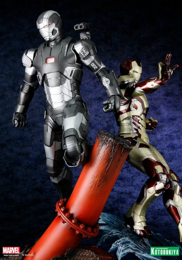 koto iron man & war machine artfx 6