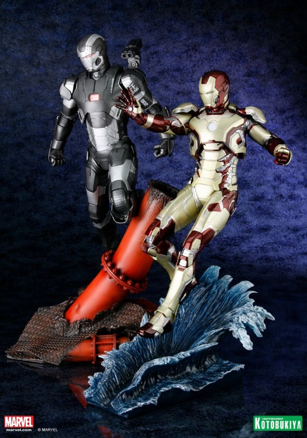 koto iron man & war machine artfx 7