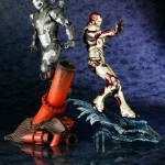 Iron Man 3 : War Machine et Iron Man Mk 42 par Koto