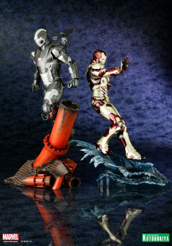 koto iron man & war machine artfx 8