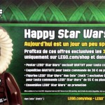 Star Wars Day : LEGO fte Star Wars