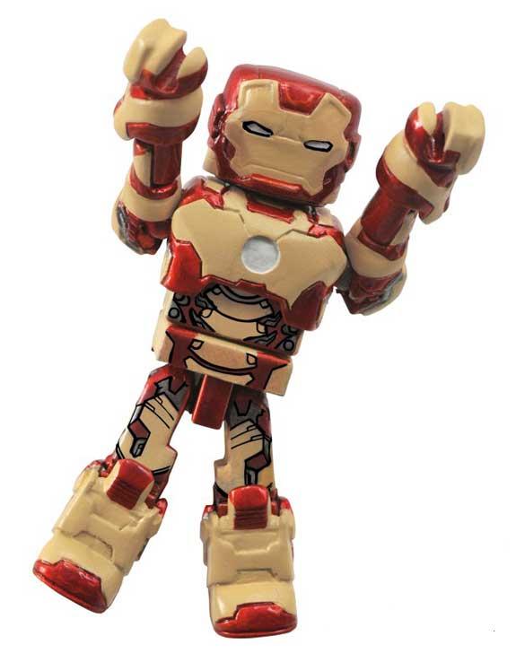 """DST Minimates Iron Man Mk42 (2"""")"""