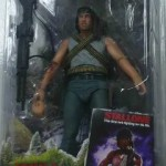 NECA : Rambo dans son packaging