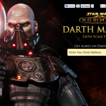 Star Wars : Sideshow tease son Darth Malgus (30cm)